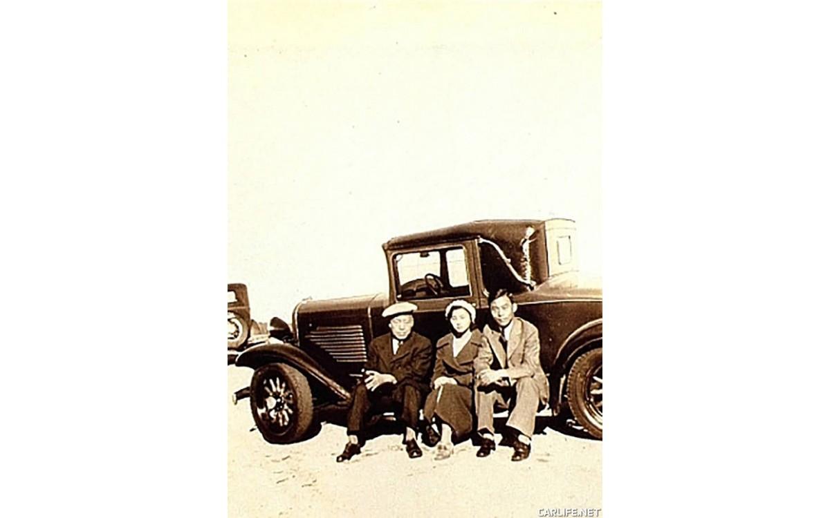 뷰트 몬태나 농장에서의 모습 (1933년 9월 16일)<br />왼쪽부터 이승만, 전인수 씨 부인, 장기영 전 서울시장