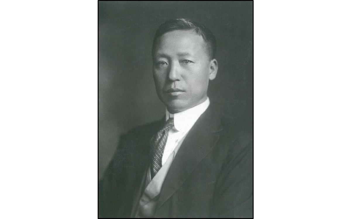 1920년 임시정부 대통령 공식사진<br />