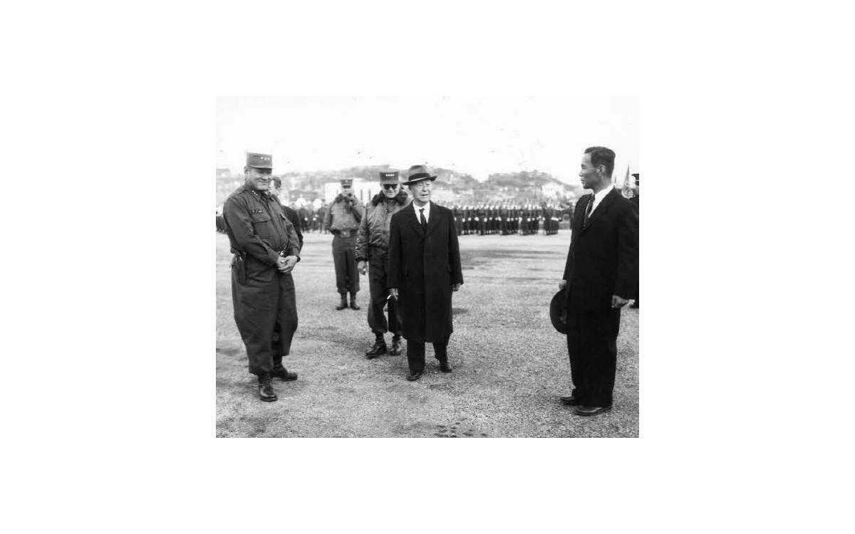 기동훈련장 사진 (1957년)<br />